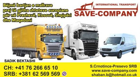 Bëjmë bartjen e produkteve të ndryshme nga e gjithë Europa